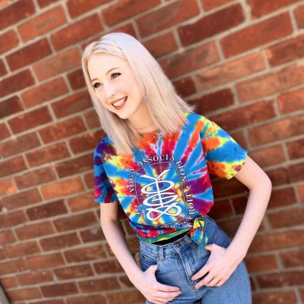 YAGD Logo Tie Dye T-Shirt
