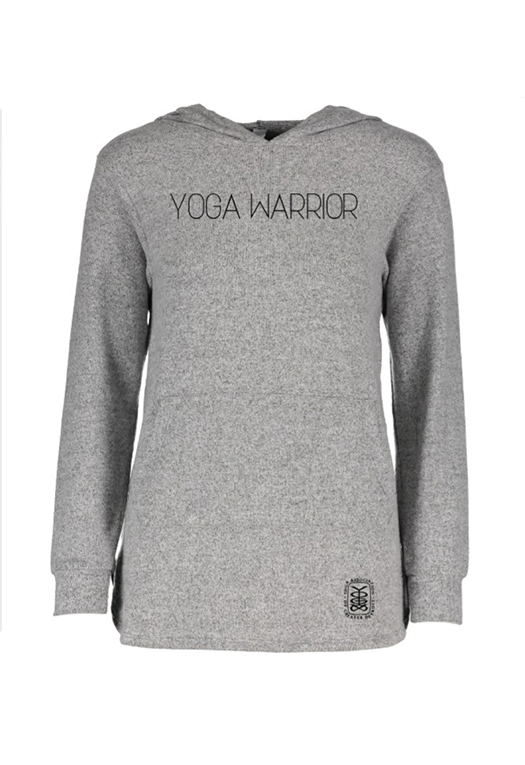 YAGD Grey Warrior Hoodie